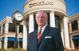 Bob Aston, Chairman and CEO of TowneBank